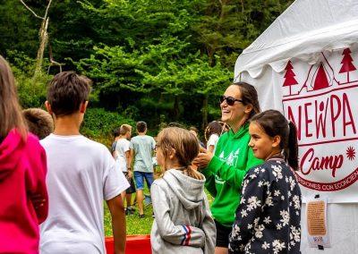 Actividades de NewPa en los campamentos de verano
