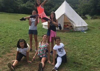 Actividades en el campamento de verano de NewPa