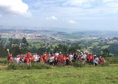 Foto de grupo de uno de nuestros campamentos de verano en inglés en Cantabria