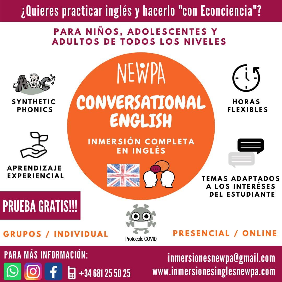 Clases de conversación en inglés en Santander y Cantabria