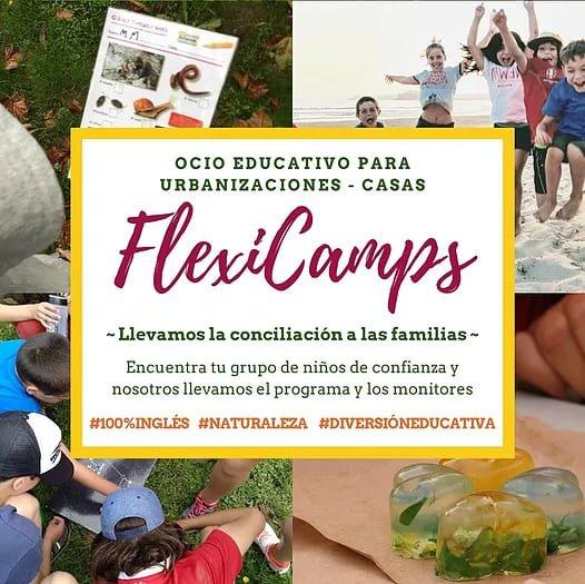 Flexicamps, campamentos a medida en Madrid y Cantabria