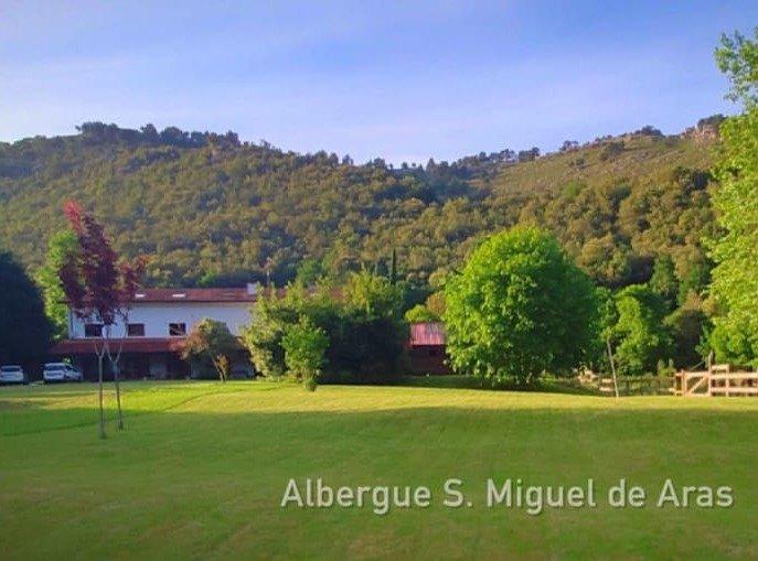Localizaciones campamentos de verano NewPa: Albergue San Miguel de Aras, Voto