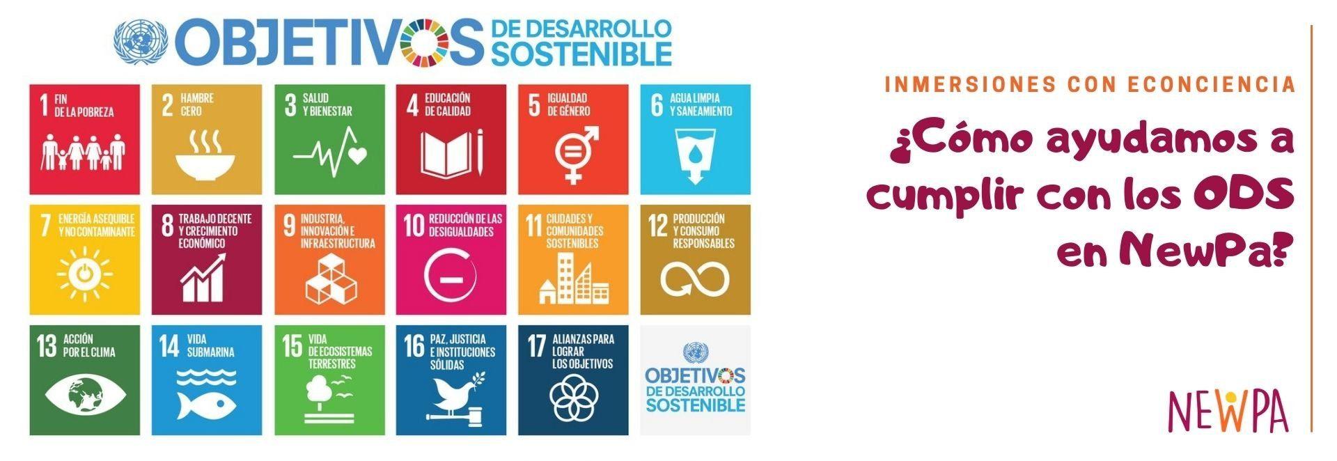 Objetivos de Desarrollo Sostenible - Campamentos sostenibles NewPa