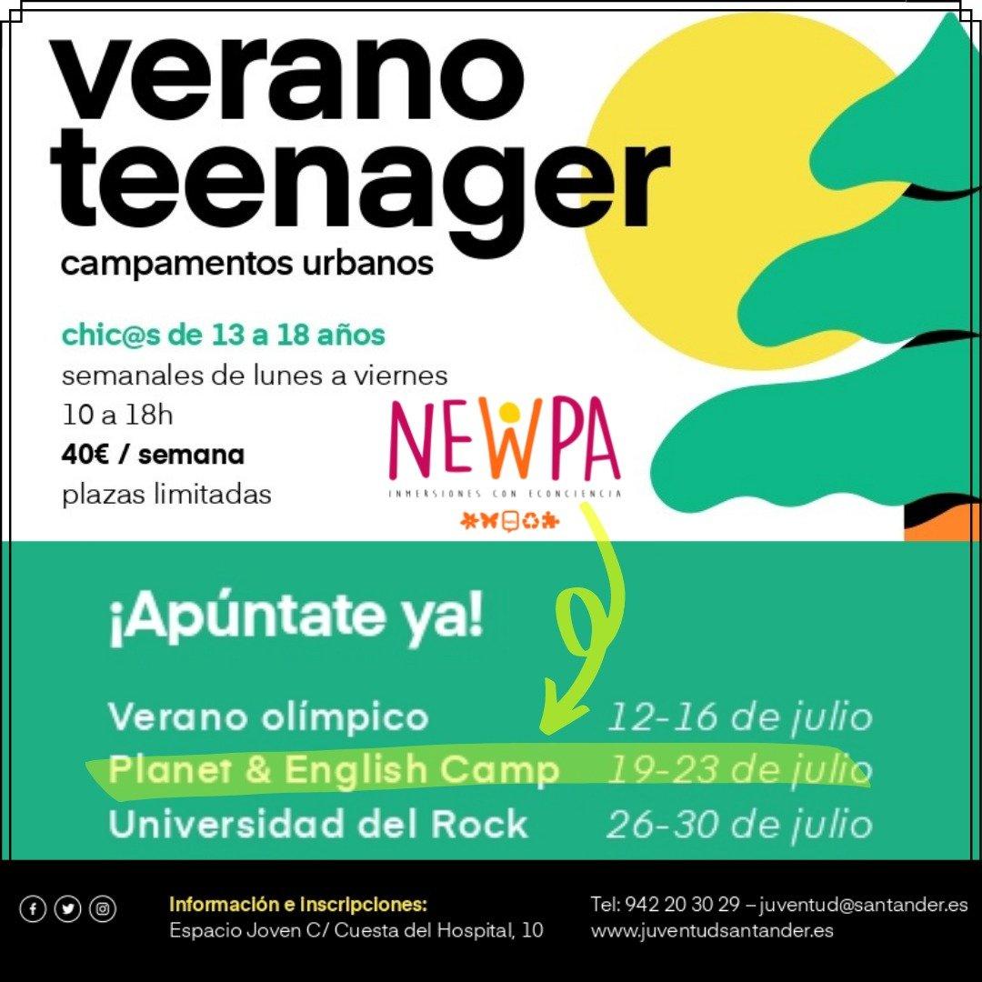 Campamento urbano para jóvenes en Santander