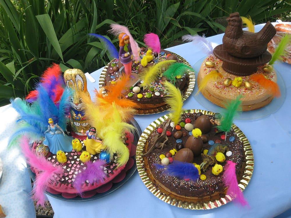 Figuras de chocolate por Pascua