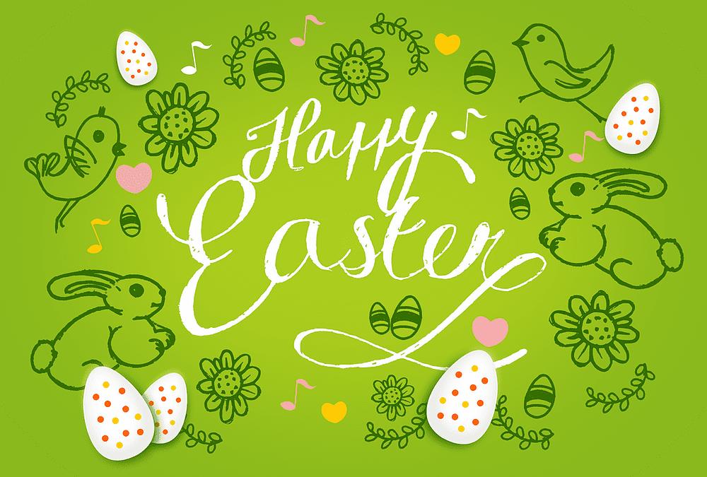 Happy Easter!! ¡¡Felices Pascuas!!