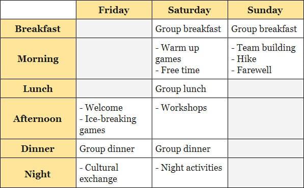 Time4english horario