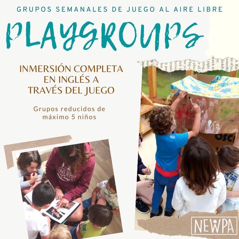 Grupos de juego en la naturaleza en ingles - Santander y Astillero - Playgroup