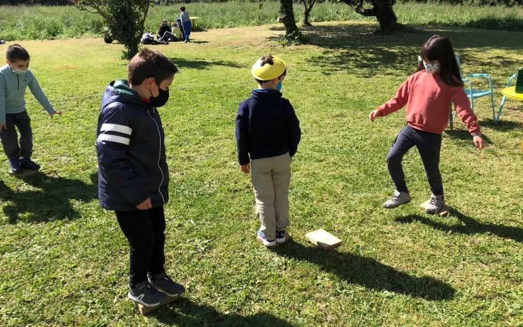 Los beneficios del aprendizaje al aire libre